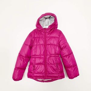 Old Navy Frost Free Hooded Puffer Jacket 8 #2604